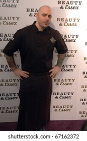 Chef Chris Santos attends Beauty & Essex Red Carpet event in new york on December 10,2010.
