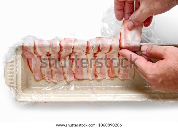chef preparing the french terrine  (french food)