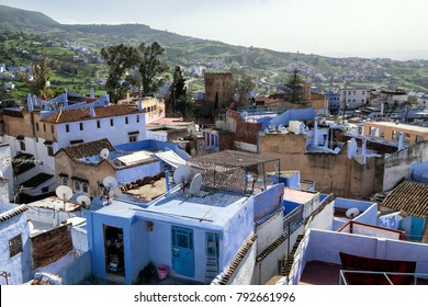 Chefchaouen such a colourful blue town in Morocco