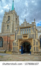 Chelmsford Cathedral, church of St Mary St Peter and St Cedd, Chelmsford, Essex, England, UK