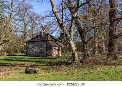 Chelmsford, Essex / UK - FEB 24 2019: old house in the park
