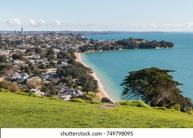 Cheltenham Beach in Devonport, North Shore, New Zealand