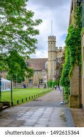 Cheltenham, Gloucestershire, UK, June 26 2016. Francis court halls Gloucerster University in Cheltenham.