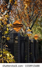 Cheltenham, Gloucestershire UK November 13th 2019 : Election 2019 supporting Liberal Democrats signs