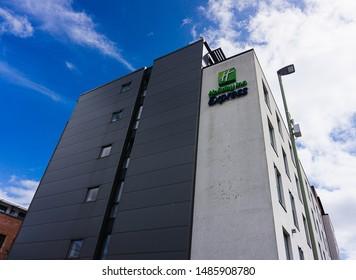 Cheltenham, UK - 08/23/2019: Holiday Inn