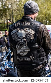 CHELYABINSK, RUSSIA - 20 July 2017: motor festival the largest biker clubs in Russia. luxury and shiny motorcycles.