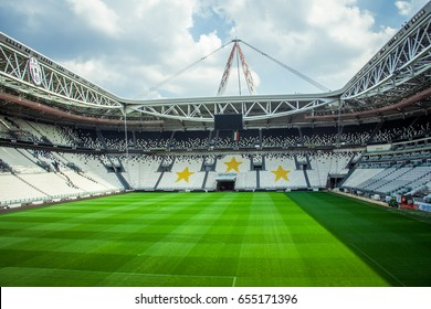 juventus stadium images stock photos vectors shutterstock https www shutterstock com image photo chelyabinsk russia june 022017 juventus stadium 655171396