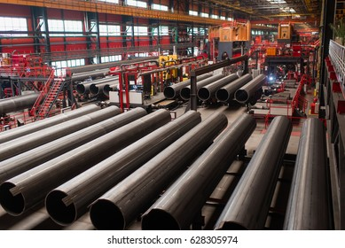 Chelyabinsk Tube-Rolling Plant is one of the largest producers of steel tubes and pipes in Russia, April 2017