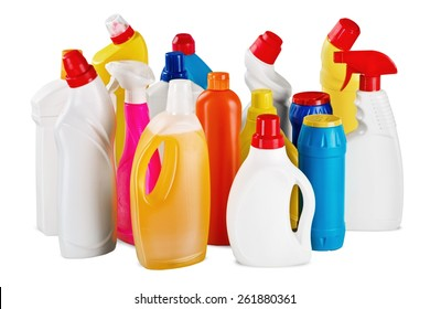 Chemical, Cleaning, Bottle.