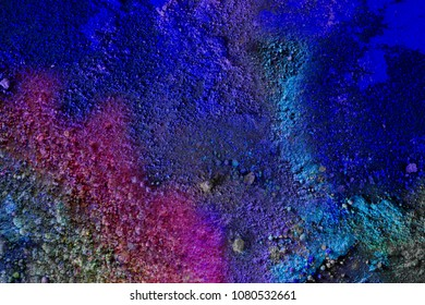 chemical cosmic pigmented landscape scenery