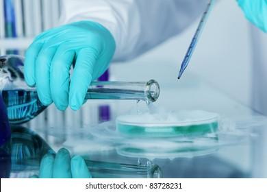 chemical experiment macro