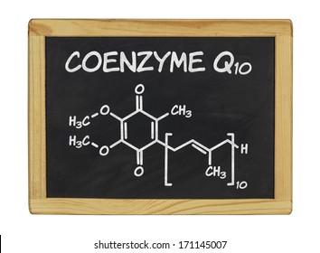 chemical formula of coenzyme q10