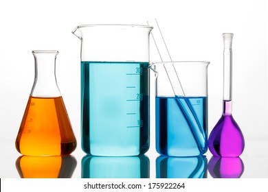 Chemical glassware for experiments