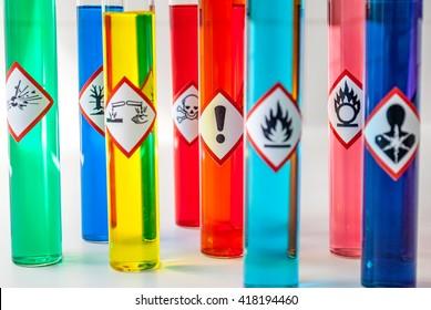 Chemical hazard pictograms Health Hazard