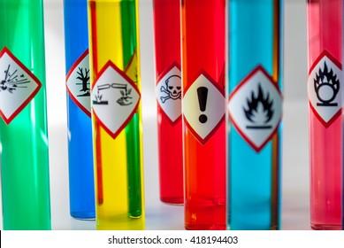 Chemical hazard pictograms Health Hazard focus