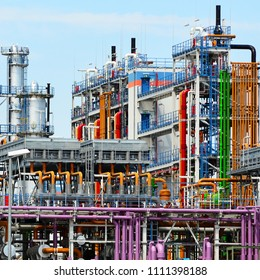 chemical industry - factory for the manufacture of chemical products - architecture and equipment