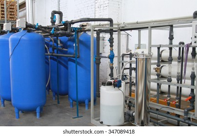 Chemical processing of water at the industrial enterprise