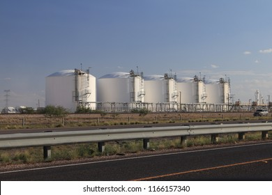 chemical storage facility in the Permian basin