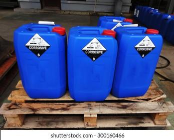 Chemical tank .