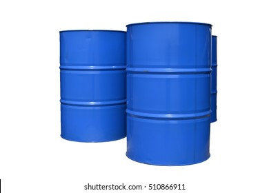 Chemical tank  on white background.