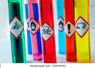 Chemical Toxic pictogram