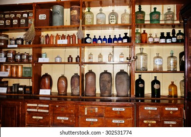 Chemicals and laboratory utensils