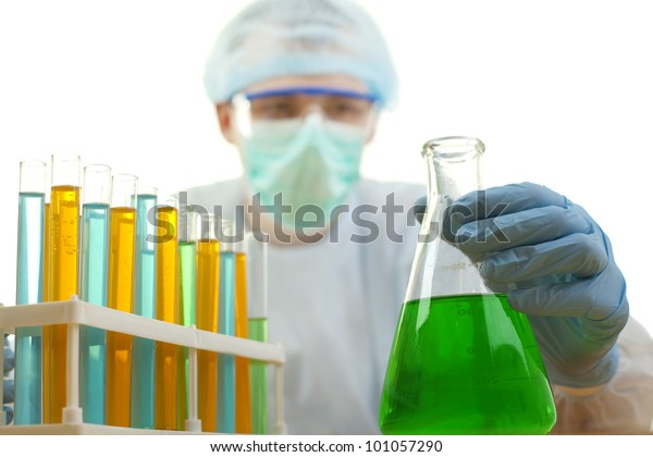 Chemistry Experiments Stock Photo (Edit Now) 101057290