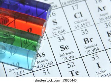 Chemistry. Test tube series