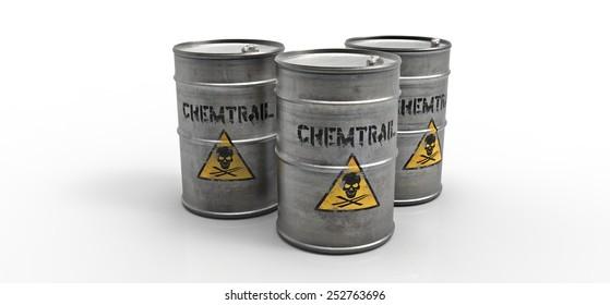 Chemtrail barrels