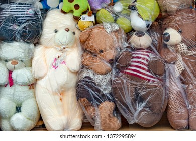 Chengdu, China - 23 Mar 2018: Counterfeit Toys sold in China