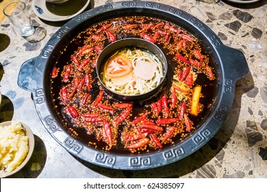 chengdu hot pot, sichuan chafing dish, it was very popular in the region of sichuan and chongqing, but later it has spread all over the country and become favored by the whole china
