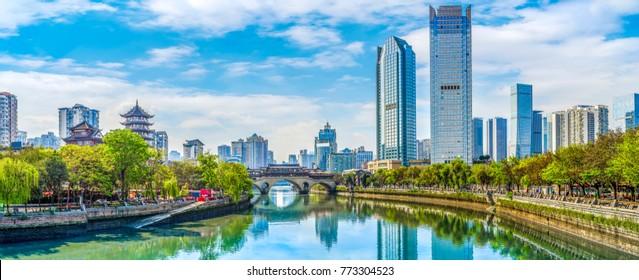 Chengdu Jinjiang Bridge