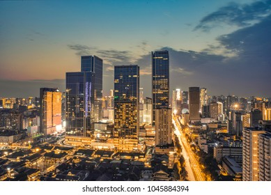 Chengdu Taikoo Li and IFS night