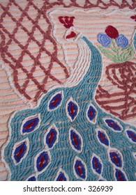 Chenille Peacock