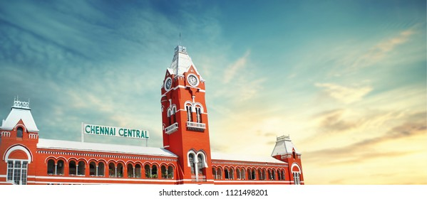 chennai central raiwaystation