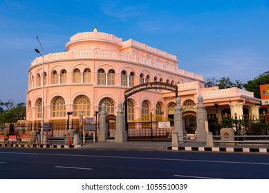 Chennai, India - March 3, 2018: Vivekanandar Illam or Vivekananda House in Chennai, India.