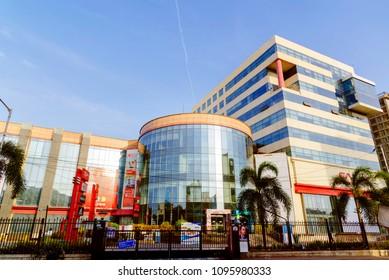 Chennai, India - May 22, 2018 : Express Avenue is a big shopping mall in chennai, India
