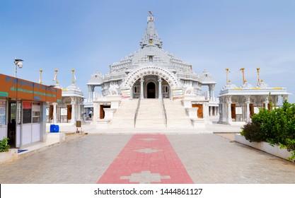 CHENNAI, TAMIL NADU, INDIA, JULY 07, 2019: Munisuvratswami Jain Navgraha Mandir,ECR,chennai  tamil Nadu, India