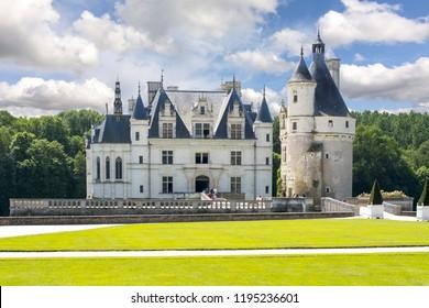 Chenonceau Castle (Chateau de Chenonceau), Loire valley, France