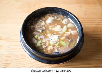 Cheonggukjang, Fast-fermented Bean Paste, Korean Food