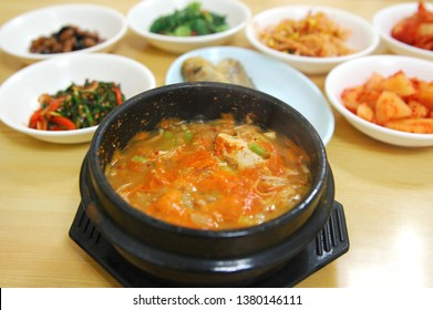 Cheonggukjang (Rich Soybean Paste Stew) - Korean food