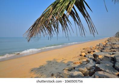 Cherai beach in Kochi.