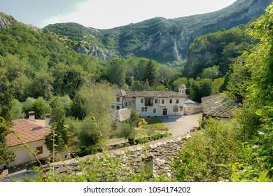 Cherepish Monastery in the Iskar Canyon, Bulgaria