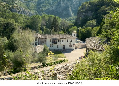 Cherepish Monastery situated on the right bank of the Iskar Canyon, Bulgaria