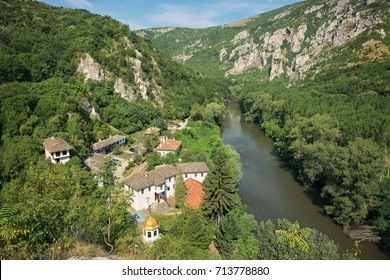 Cherepish Monastery situated on the right bank of the Iskar River, Bulgaria