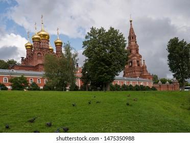 Chernigovsky skete as part of the Holy Trinity Sergius Lavra  in Sergiev Posad, Russia