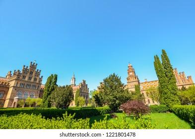 Chernivtsi University Ukraine, Chernivtsi, May 2018