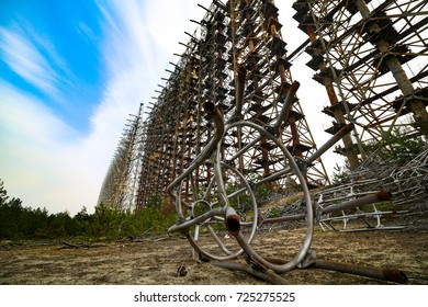 Chernobyl exclusion zone. Pripyat city. Abandoned ghost town. Stalker and fallout theme. Chernobyl disaster. Exclusive photos of Chernobyl. End of the world. History of catastrophe. Buryakovka.