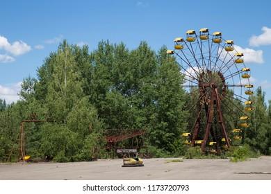 Chernobyl. Ferris wheel