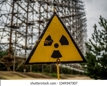 Chernobyl Nuclear Disaster - Radiation Risk Signs Sarcophagus